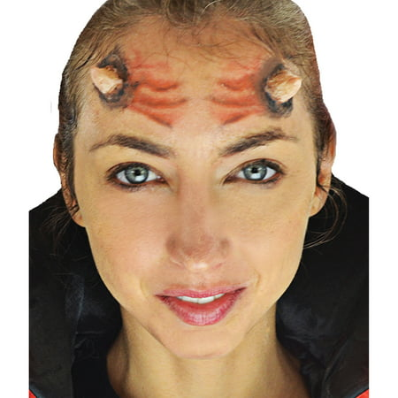 3d Halloween Pics (Horns 3D FX Makeup Kit Adult Halloween)