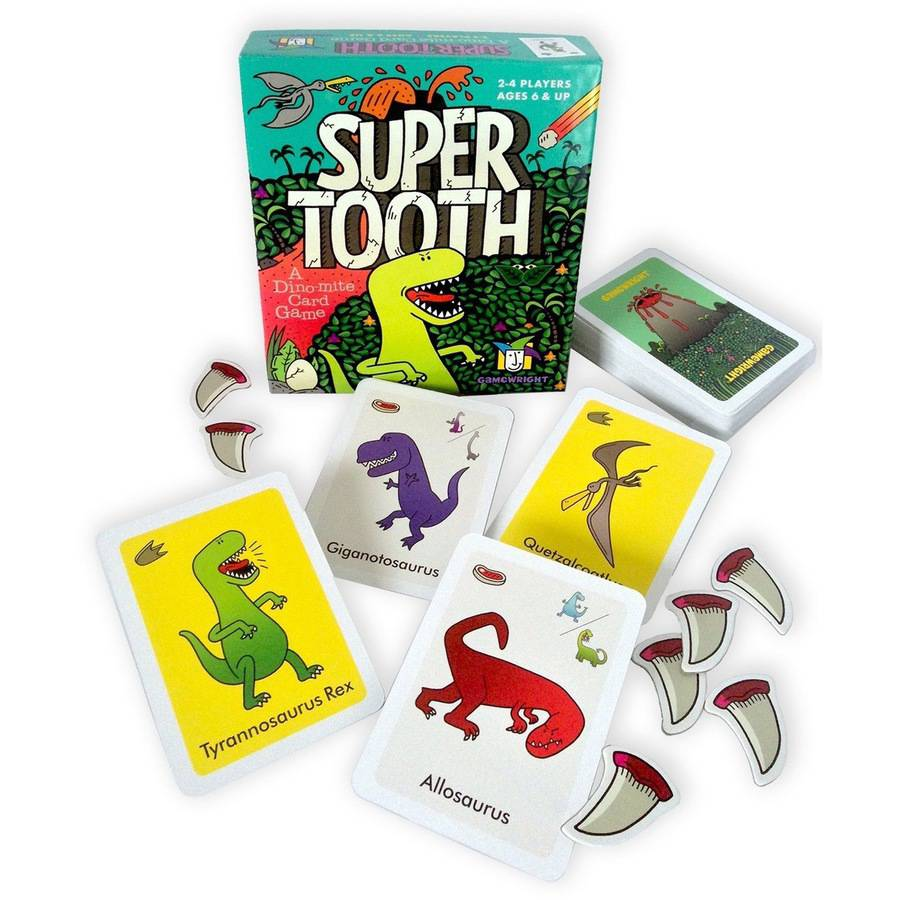 Super Tooth: A Dino-Mite Card Game