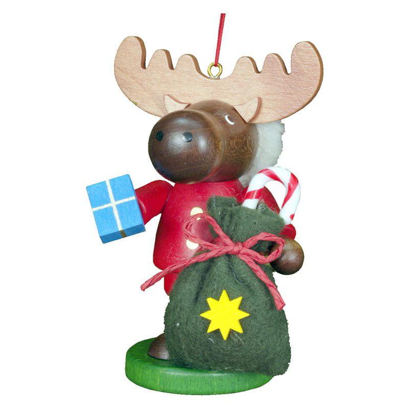 Christian Ulbricht Santa Elk Ornament
