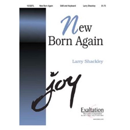 New Born Again Sac Anthem Sab Larry Shackley Sheet Music 103207l