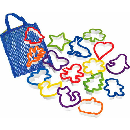 (Curious Chef 16-Piece Cookie Cutter Kit Play Set)