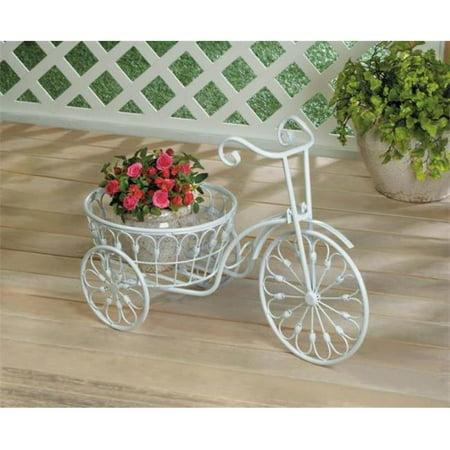 Bicycle Planter, White - image 1 de 1