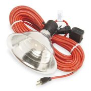 STANDARD PORTABLE STANDARD PORTABLE Incandescent Red Temporary Job Site Light, ML-200-50-C3