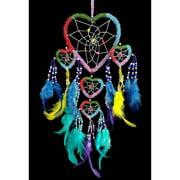 Handmade Beaded Rainbow Colorful Dream Catchers Hanging Wall Décor