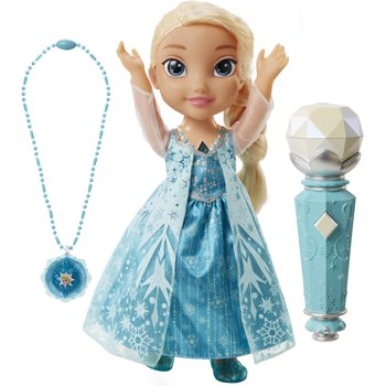 Disney's Frozen Sing Along Elsa w/Necklace + $3.20 Kmart Credit