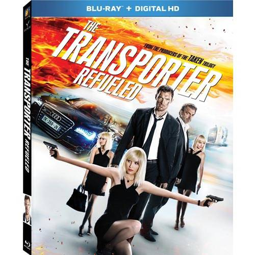 The Transporter Refueled (Blu-ray + Digital HD) (With INSTAWATCH) (Widescreen)