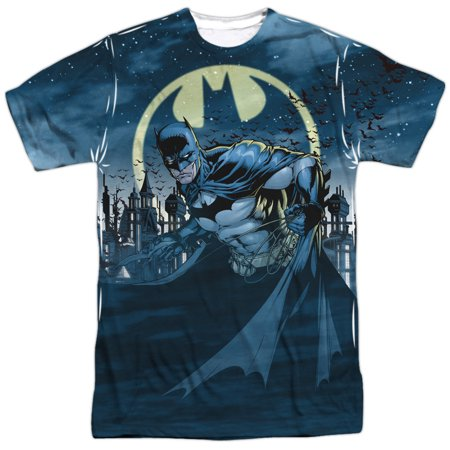 Batman Heed The Call Mens Sublimation Shirt ()