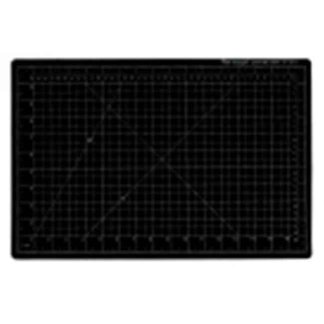 Vantage 9 x 12 in. Self-Healing Cutting Mat, Pvc Handle, Black