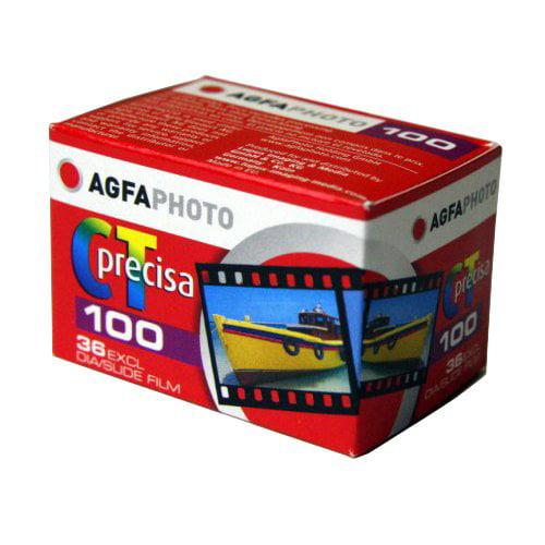 Agfa Photo CT Precisa 100 135-36 E-6 color slide Film AgfaPhoto by GadgetCenter