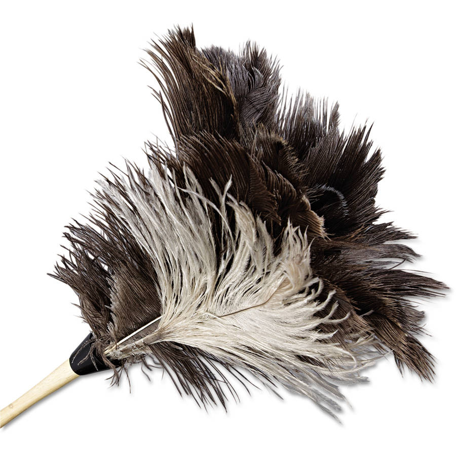 Boardwalk Gray Professional Ostrich Feather Duster