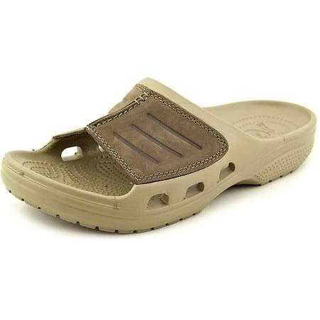 Crocs Yukon Mesa Slide Men Open Toe Canvas Slides Sandal