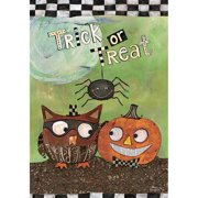 """Well Street by Lang """"Trick Or Treat"""" Large Flag, 28"""" x 40"""""""