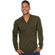 True Rock Mens Shawl Collar Sweater