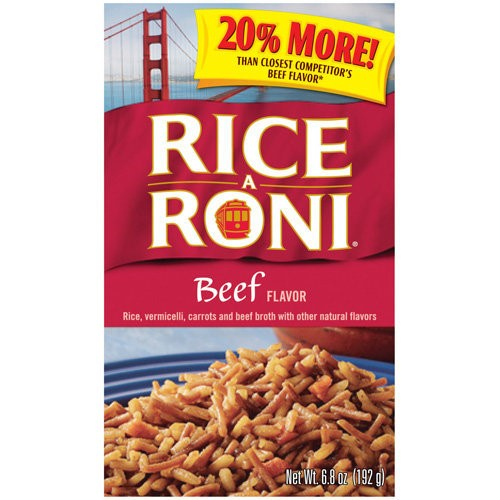 Rice-A-Roni Rice Mix, Beef, 6.8 oz