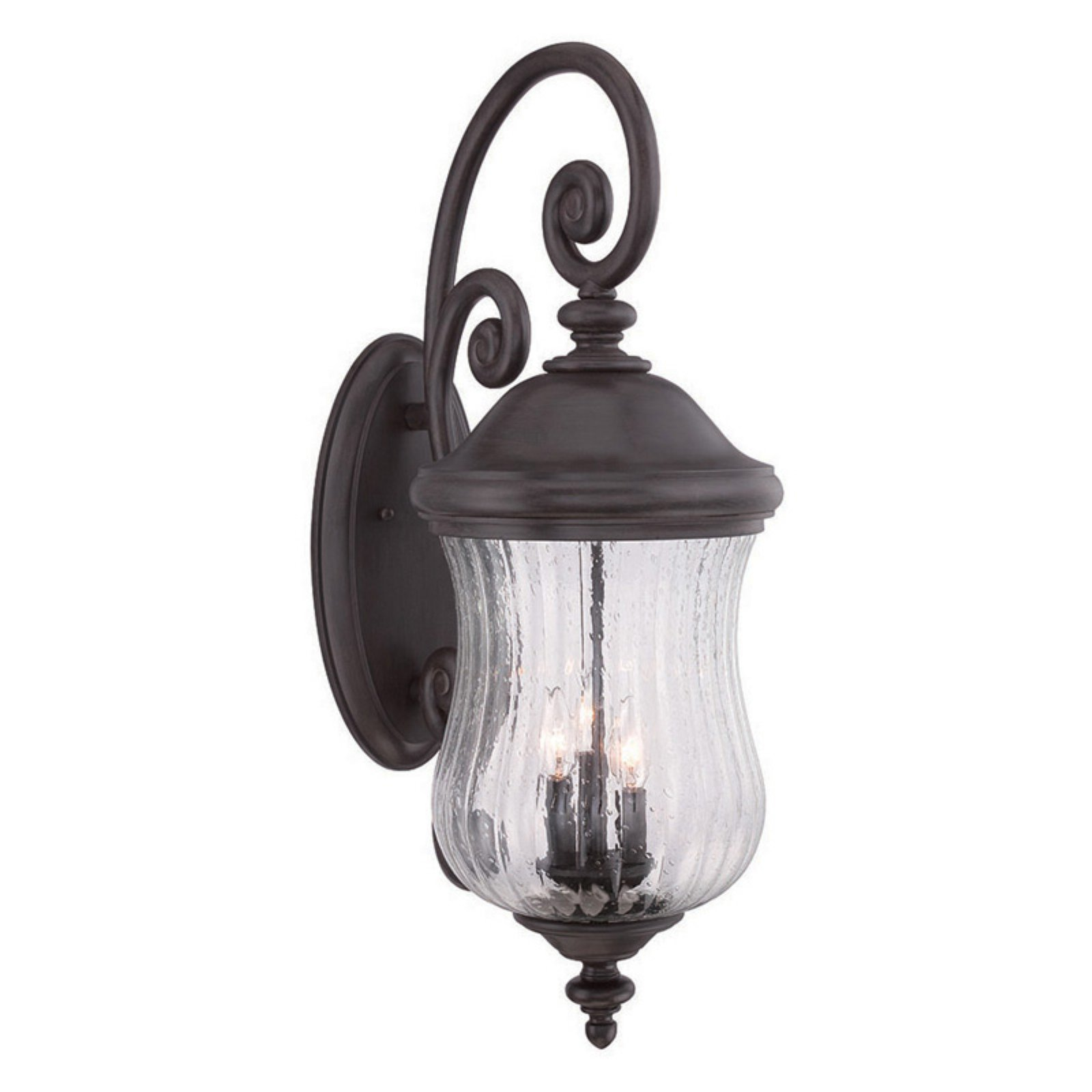Acclaim Lighting Bellagio 3 Light Outdoor Wall Lantern Light Fixture