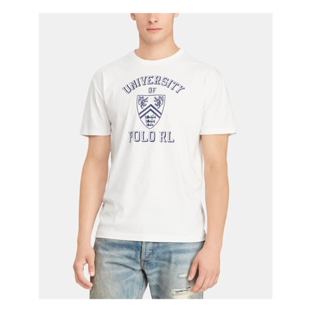 Ralph Lauren $45 Men's White Classic Fit Cotton T-Shirt XXL B&B