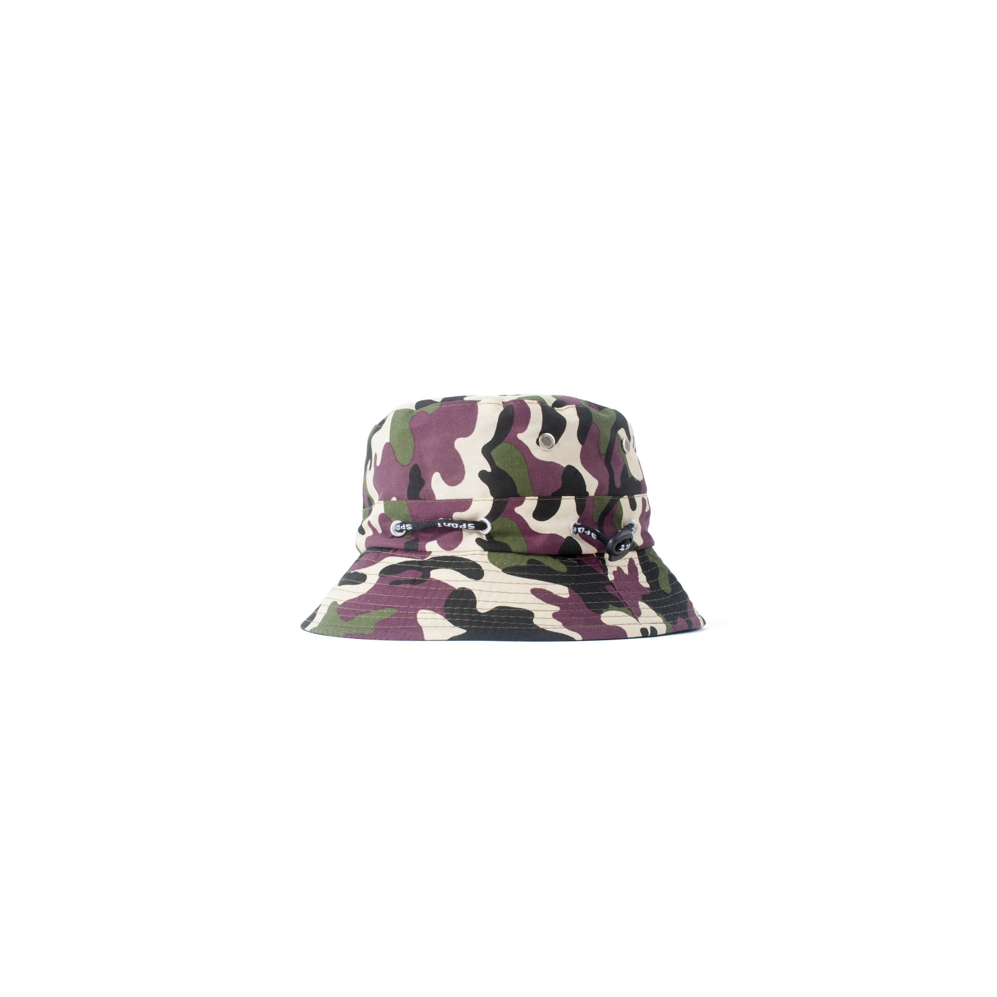 7aff1233444 Zodaca Men Women Camouflage Unisex Summer Bucket Hats Hunting Fishing  Fisherman Outdoor Cap Sun Hat - Black