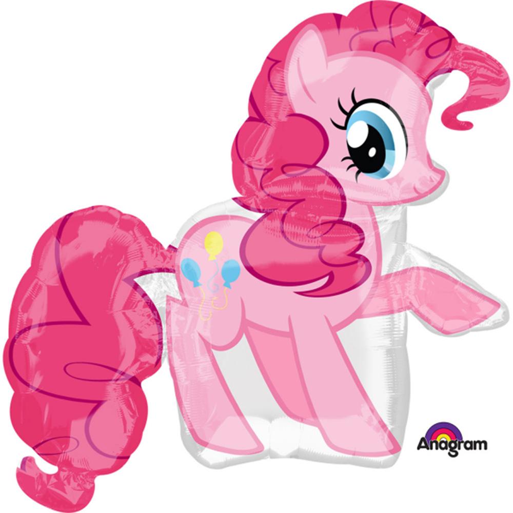 My Little Pony Pinkie Pie Super Shape Foil / Mylar Balloon 33""
