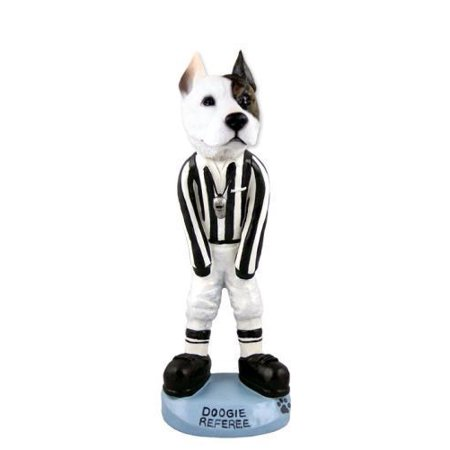 Pit Bull Terrier Referee Doogie Collectable Figurine
