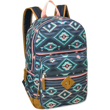 17 5 Inch Classic Backpack With Reinforced Vinyl Bottom And Comfort Padding