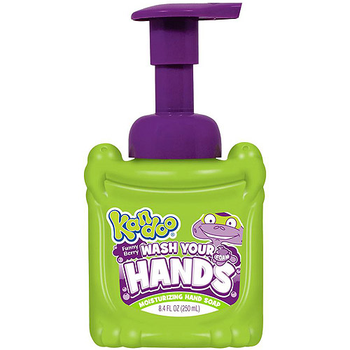 Kandoo Wash Your Hands Funny Berry Moisturizing Foam Hand Soap, 8.4 fl oz