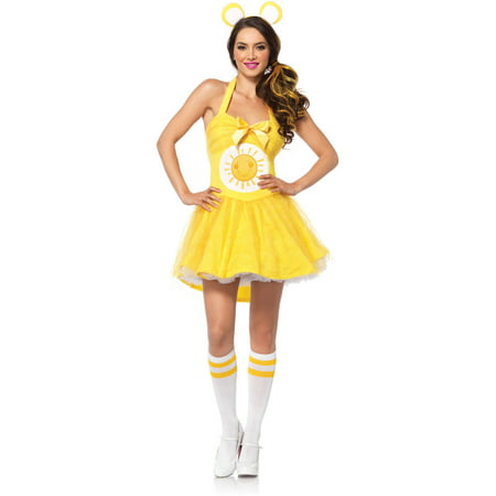 Leg Avenue Care Bears Funshine Bear Adult Halloween Costume