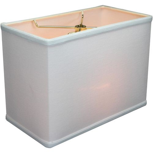 Home Concept Inc New 12'' Linen Rectangular Lamp Shade