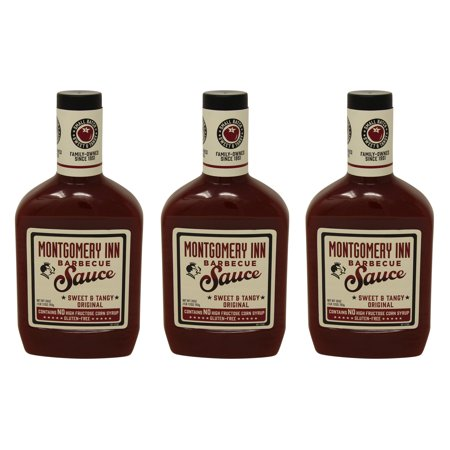 Montgomery Inn Barbecue Sauce, Original 28oz (Pack of 3)