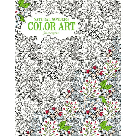 Leisure Arts Natural Wonders Color Art Coloring Book