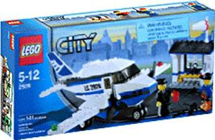 City Airplane Set Lego 2928 by