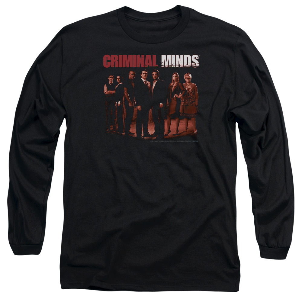 Criminal Minds The Crew Mens Long Sleeve Shirt