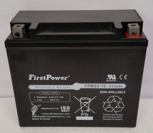 YTX20L-BS For Bombardier Ski-Doo 300 Skandic 2000-2010 Battery by FirstPower