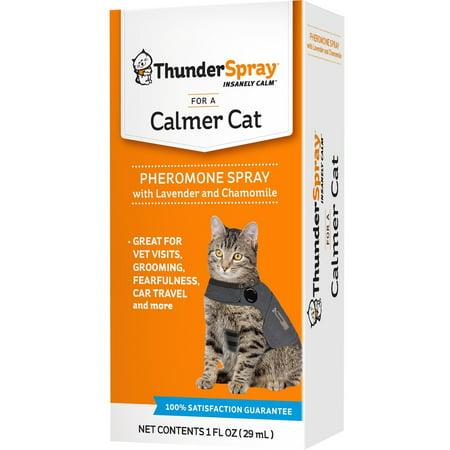 ThunderEase Calming Pheromone Spray for Cats, 1 (Pheromone Collar)