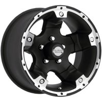 "Black Rock 900B Viper Alloy 15x8 5x4.5"" -19mm Black Wheel Rim 15"" Inch"