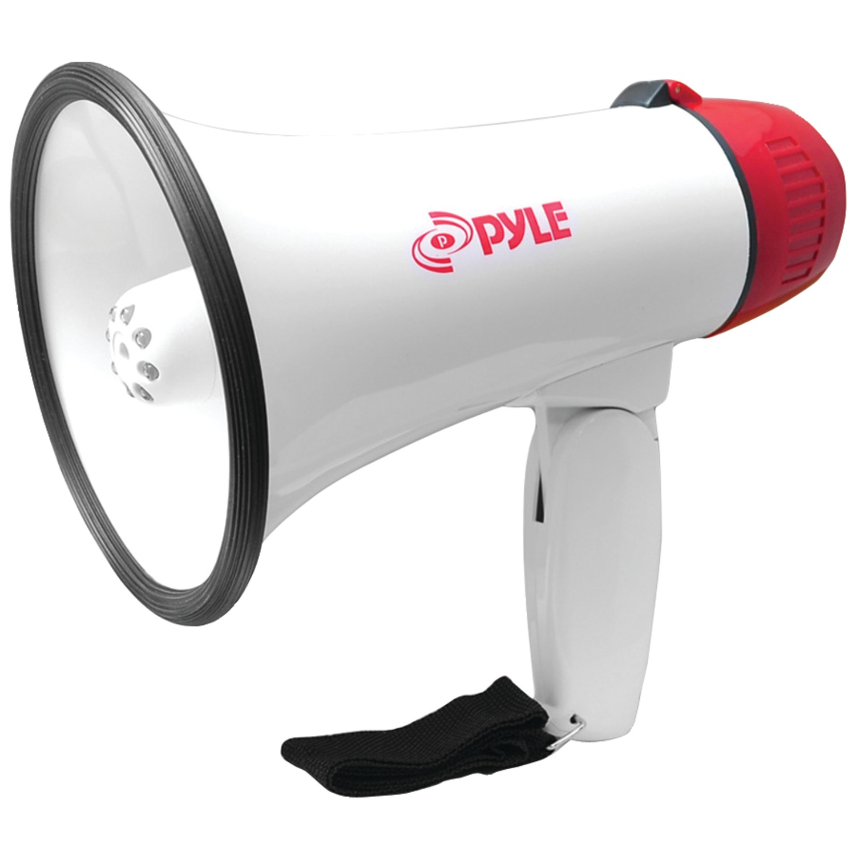 Pyle Pro PMP37LED 30-Watt Mini Compact Megaphone/Bullhorn