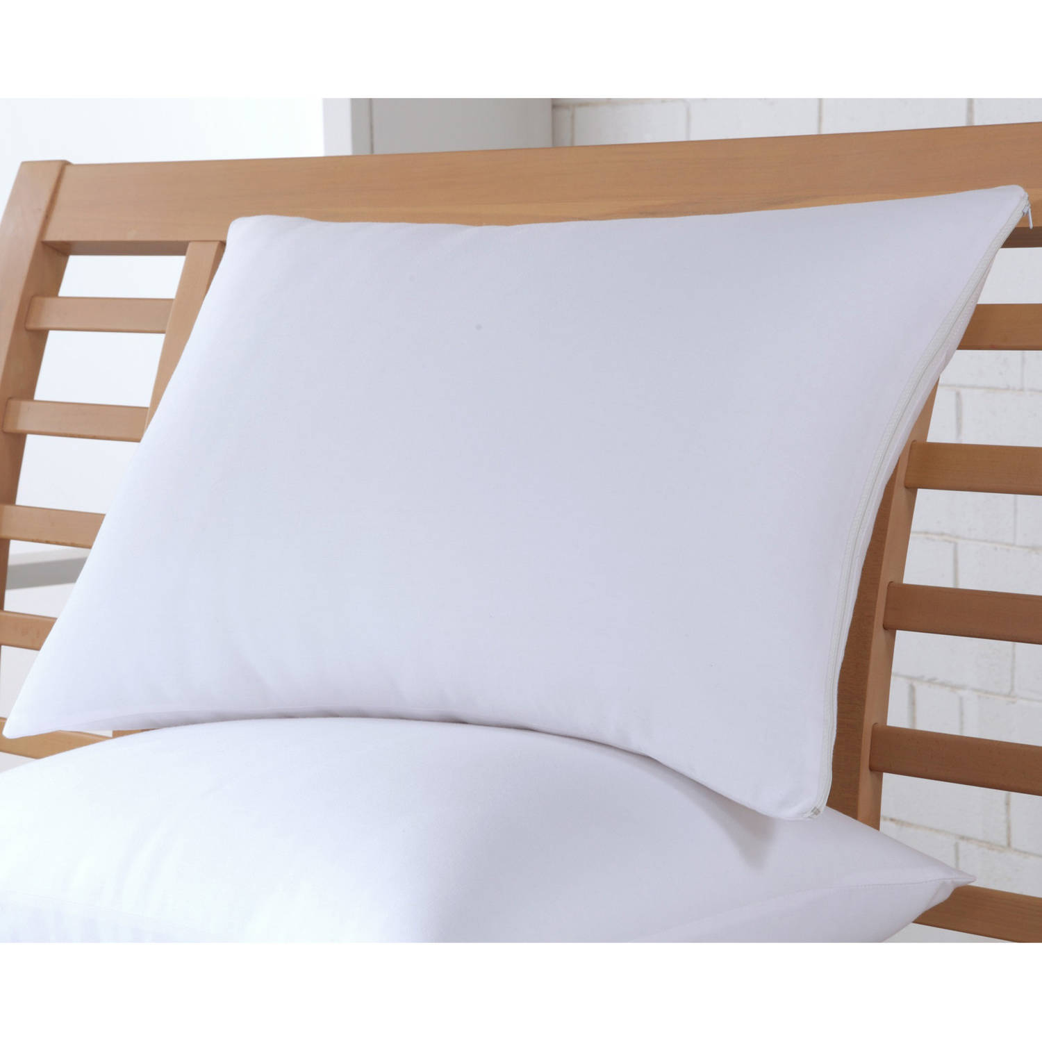 Ultrasoft Cotton Rich Bed Pillow Covers, Set of 2 by Perfect Fit Industries