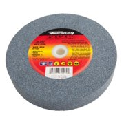 "60-Grit, 6""-By-1"" Bench Grinding Wheel, Vitrified With 1"" Arbor Forney 72404"