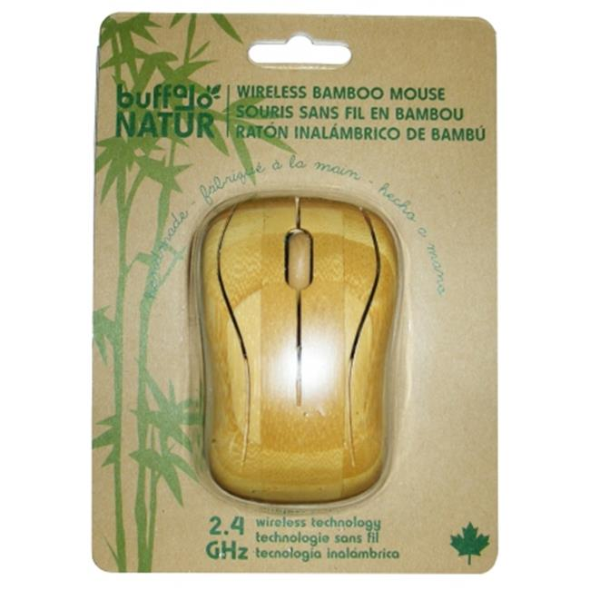 Buffalo Original Inc 1000 Buffalo Original Inc 1000 Bamboo Wireless Computer Mouse