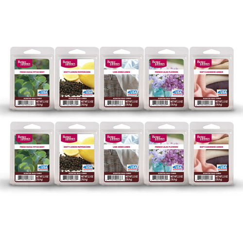 Better Homes and Gardens 10-Pack Wax Cubes, Spring  Clean