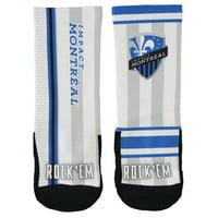 Montreal Impact Rock Em Socks Youth Match Up Socks - No Size