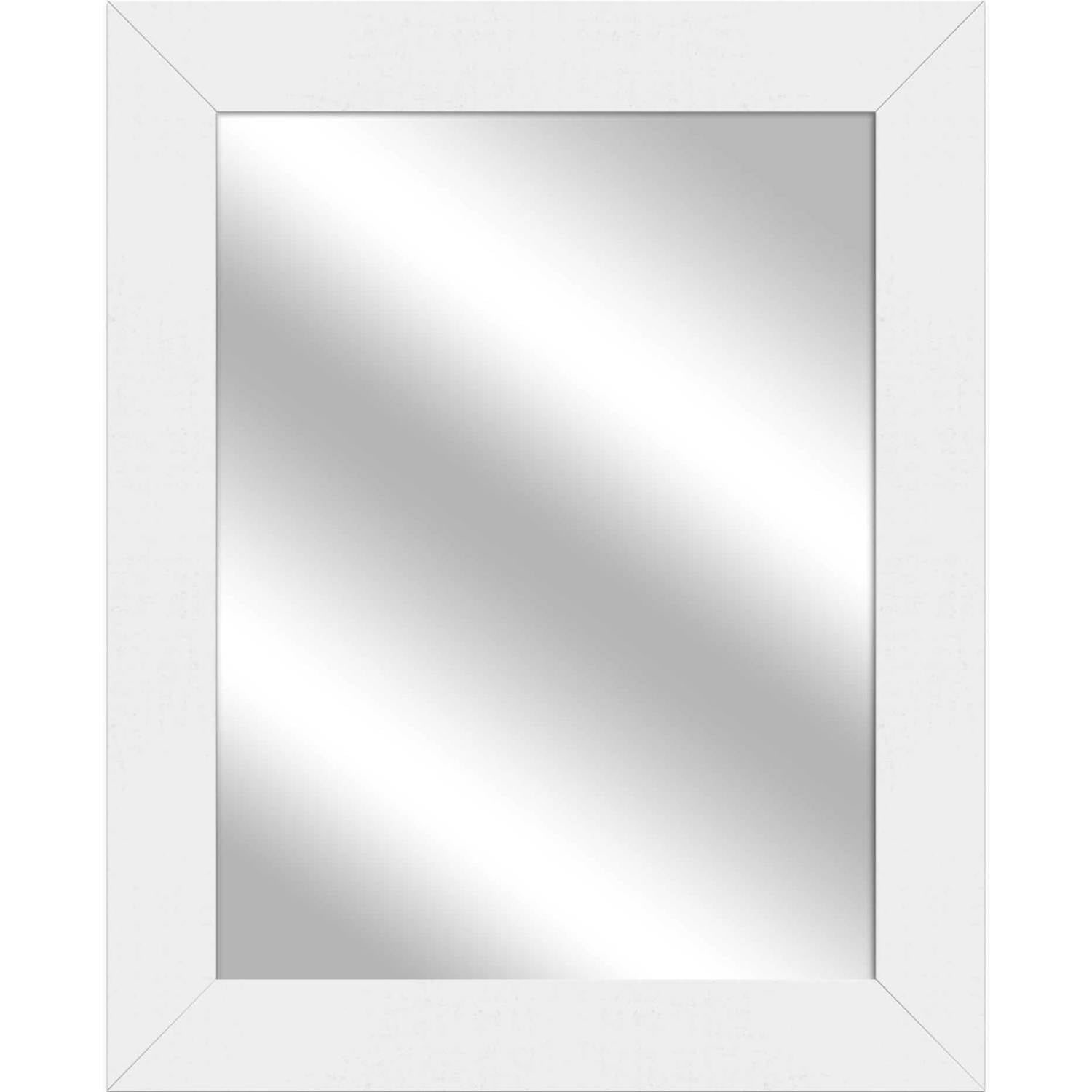 Vanity Mirror, White, 25.5x31.5 by PTM Images