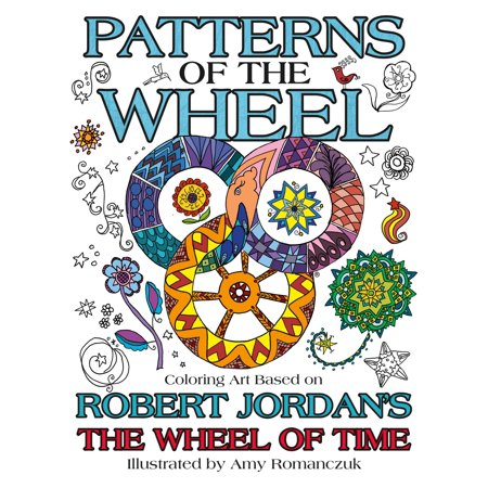 Base Pattern - Patterns of the Wheel : Coloring Art Based on Robert Jordan's The Wheel of Time