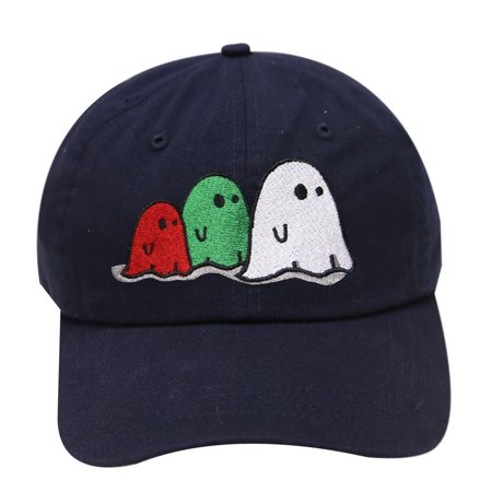 City Hunter C104 Halloween Ghost Family Cotton Baseball Caps - Navy