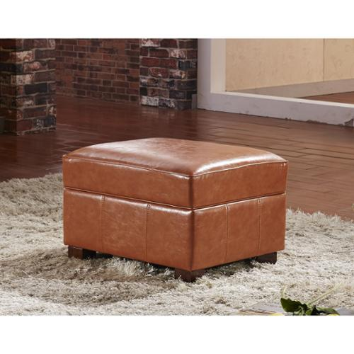 Storage Bench Hinges Hau Li Wu Usa Contemporary Faux Leather Storage Ottoman