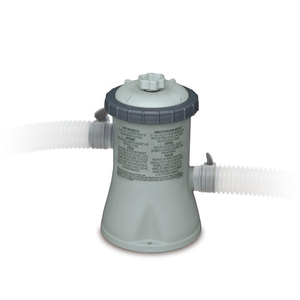 Intex 330 GPH Easy Set Swimming Pool Cartridge Filter Pump w/ GFCI | 28601EG