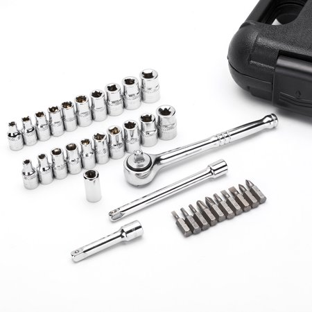 """MAXPOWER 35pc 1/4""""Dr. socket wrench set - image 5 of 7"""
