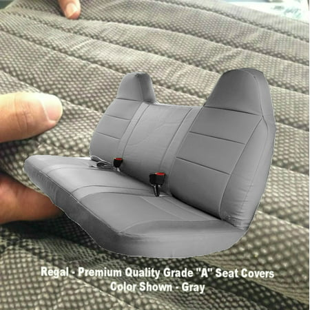 Terrific F23 Ford F150 F250 F350 F450 F550 Year 1992 2010 Full Size Bench Seat Cover Molded Headrest Fitted Gray Grey Gmtry Best Dining Table And Chair Ideas Images Gmtryco