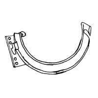 Billy Penn 1104 Combination Hanger, For Use With 5 in Half Round System per 50 EA ()