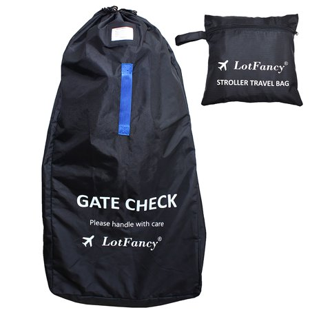 Stroller Bag with Backpack Strap,Water-resistant, Ideal for Travel & Gate Check,Standard & Double Strollers