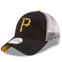 Pittsburgh Pirates New Era Team Rustic 9TWENTY Adjustable Hat - Black - OSFA